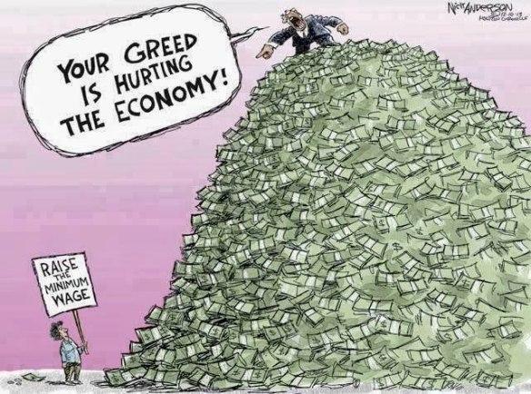 Minimum Wage cartoon