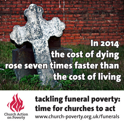Funeral poverty cost of dying meme