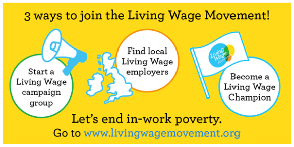 Living Wage actions