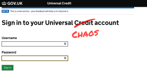 Universal Credit - universal chaos? - Church Action on Poverty